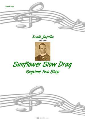 Sheet Music Sunflower Slow Drag
