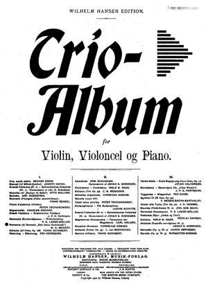 Sheet Music Eine kleine Nachtmusik (Romance and Serenade)