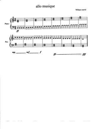 Sheet Music Hy music!