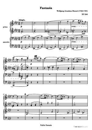 Sheet Music Fantasia