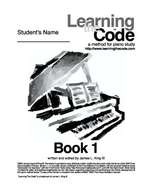 Sheet Music Learning the Code