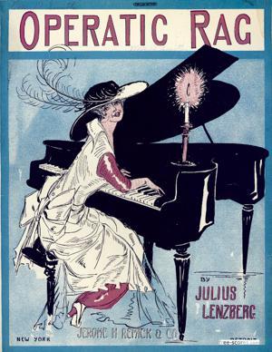 Sheet Music Operatic Rag