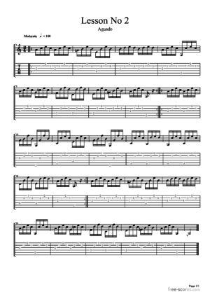 Sheet Music Lesson No.2