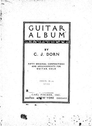 Sheet Music Guitar Album