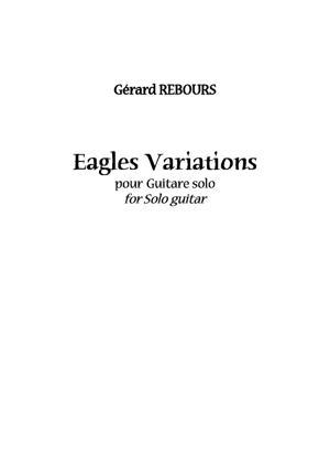 Sheet Music Eagles Variations