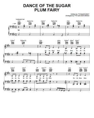 Sheet Music Pentatonix - Dance Of The Sugar Plum Fairy
