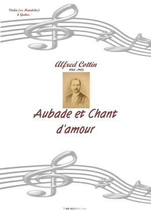 Sheet Music Aubade et Chanson d'amour