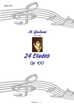 Sheet Music 24 Etudes