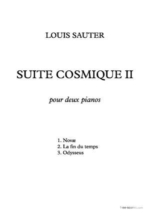Sheet Music Suite cosmique II