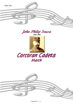 Sheet Music Corcoran Cadets