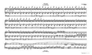 Sheet Music Suite Gothique : Toccata