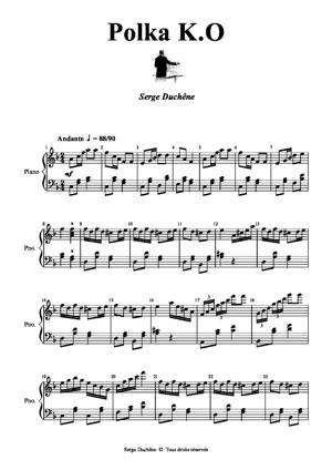 Sheet Music Polka K.O