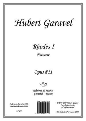 Sheet Music Rhodes I - Nocturne