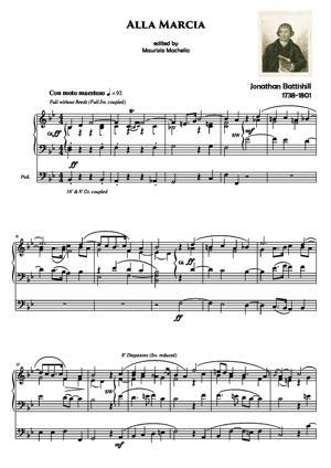 "Sheet Music ""Alla Marcia"""