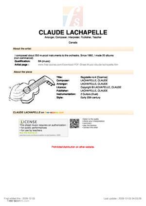 Sheet Music Bagatelle no:4