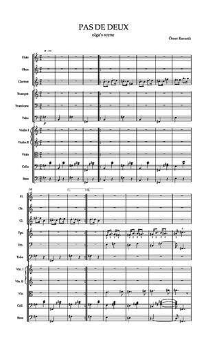 Sheet Music Pas de deux ''olga's scene''
