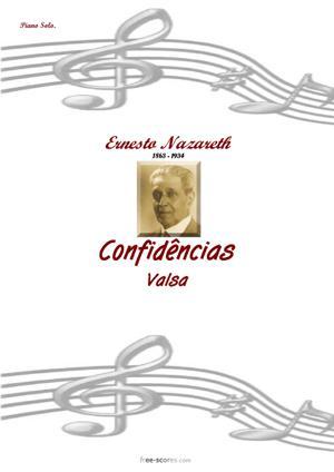 Sheet Music Confidencias
