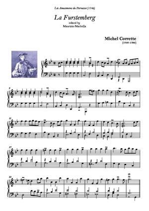 Sheet Music La Furstenberg
