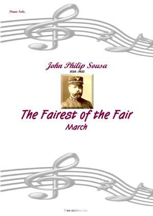 Sheet Music The Fairest of the Fair