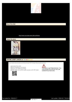 Sheet Music TIMELINE