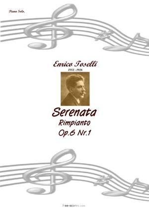 Sheet Music Serenata