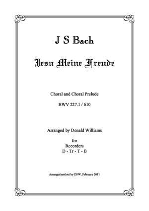 Sheet Music Jesu meine Freude