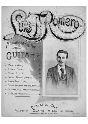 Sheet Music La paloma