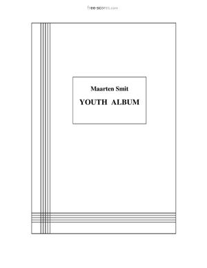 Sheet Music Youth Album Complete (No. 1-19)