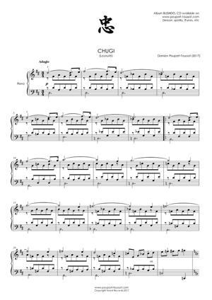 Sheet Music CHUGI (Loyalty)