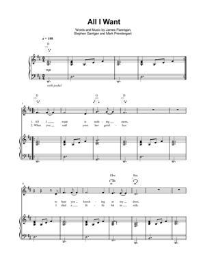 Sheet Music Ellie Goulding - All I Want