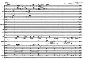 Sheet Music Kaze (The Wind)