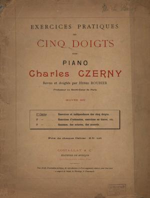Sheet Music Practical five finger piano (Book 1)