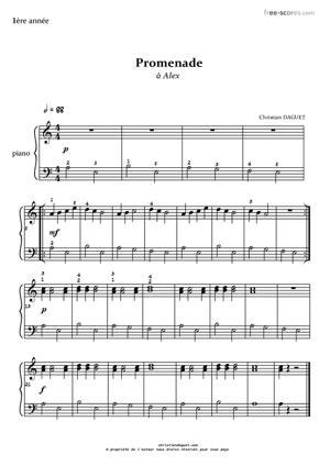 Sheet Music Promenade