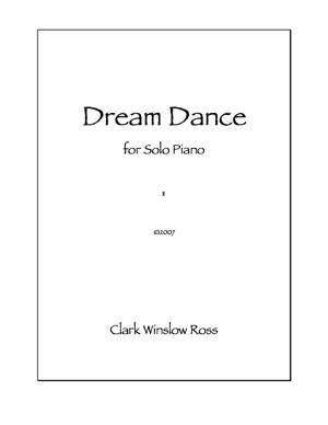 Sheet Music Dream Dance