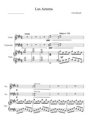 Sheet Music Clint Mansell - Lux Aeterna