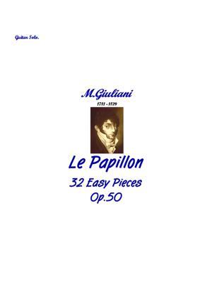 Sheet Music Le Papillon