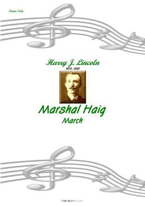 Sheet Music Marshal Haig