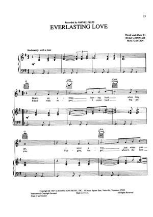 Sheet Music Jamie Cullum - Everlasting Love
