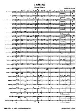 Sheet Music RIMINI