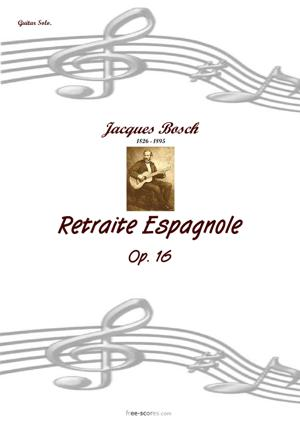 Sheet Music Retraite Espagnole