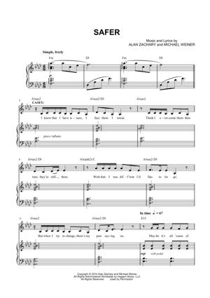 Sheet Music from First Date - Safer