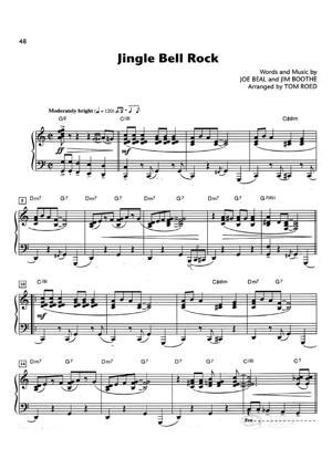 Sheet Music Christmas Sheet Music - Jingle Bell Rock