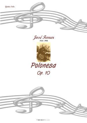 Sheet Music Polonesa