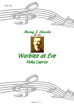 Sheet Music Warbles at Eve