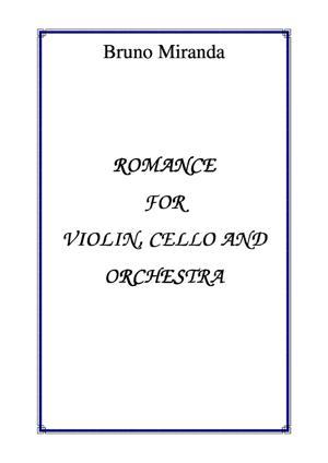 Sheet Music Romance for Violin, Cello & Orchestra