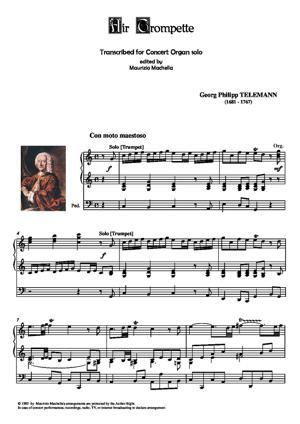 Sheet Music Air Trompette