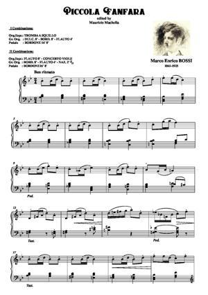 Sheet Music Piccola Fanfara
