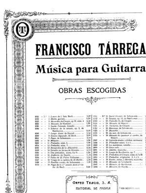 Sheet Music Fugue in G minor