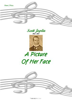 Sheet Music A Picture of her Face
