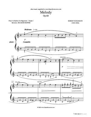 Sheet Music Melody